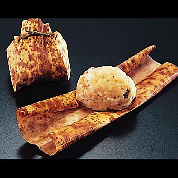 【業務用食品の味百景】竹皮巻 鶏五目 1個