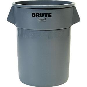 ラバーメイド BRUTE(ブルート)丸型コンテナ 208.2L 2655 グレー