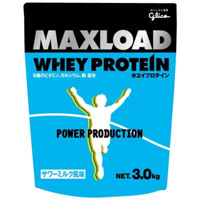 江崎グリコ MAXLOAD(マックスロード) ホエイプロテイン<サワーミルク風味>