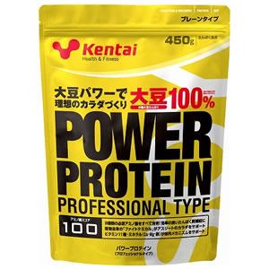 Kentai(ケンタイ)Kentai(ケンタイ) パワープロテイン(プロフェッショナルタイプ) 450g <プレーン>