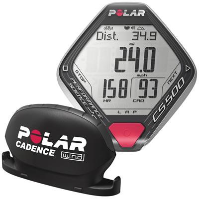 POLAR(ポラール) 心拍計付サイクルコンピューター CS500+cad