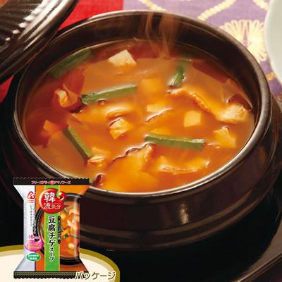 アマノ 韓流気分「スンドゥブチゲ風 豆腐チゲスープ」 (10食入)