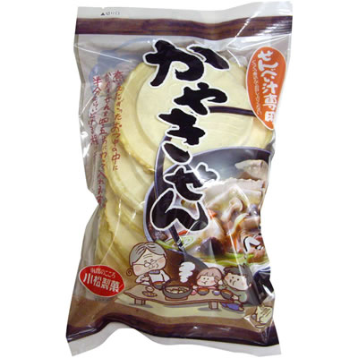 小松製菓 かやきせん (せんべい汁専用白せんべい) 10枚 No.1578