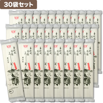 田靡製麺 播龍うどん[和紙包装] (30袋セット)