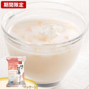 アマノフーズ [期間限定]【お徳用セット】果実甘酒「桃の甘酒」(10食入×6箱セット)