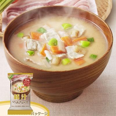 アマノフーズ フリーズドライ いつものおみそ汁「豚汁」(10食入)