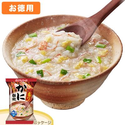 アマノフーズ 【お徳用セット】炙りかに雑炊(6食入×6箱セット)