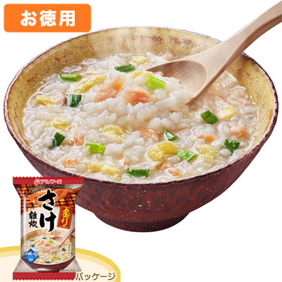 アマノフーズ 【お徳用セット】炙りさけ雑炊(6食入×6箱セット)