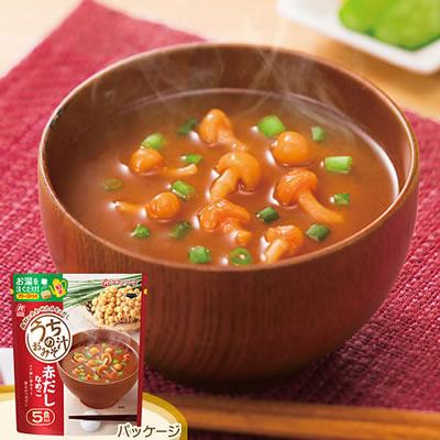 アマノフーズ フリーズドライ うちのおみそ汁「赤だしなめこ」(5食入)