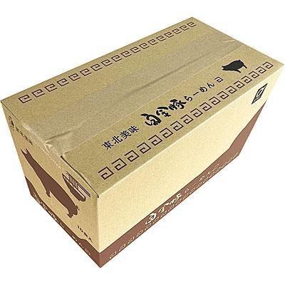 小山製麺 白金豚らーめん 濃厚みそ味 10食入 HM