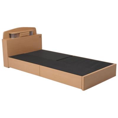 [アドバンス]木製ベッド(宮付)<ダブル> 83680