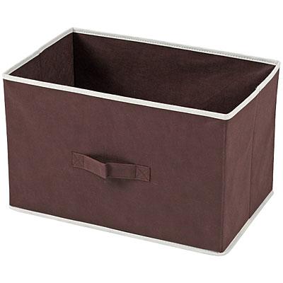 不織布製インナーボックス 横型 ブラウン 40496