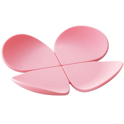 立体コースター さくらピンク
