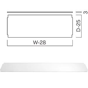 アクリル板(W600×D300) (1枚入) BC297E30A06C
