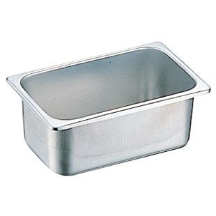 18-8 ステンレス角型容器 265×162×H150mm 板厚0.6mm