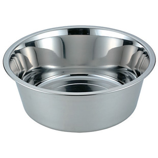 18-8 ステンレス 洗桶 ゴム無 φ360×H140mm