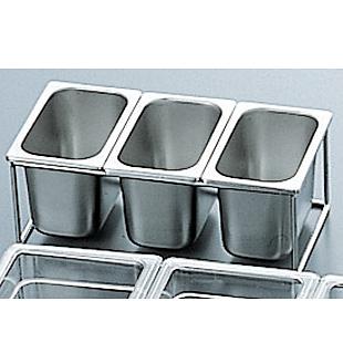 18-8 角型容器スタンド 330×165×H105mm