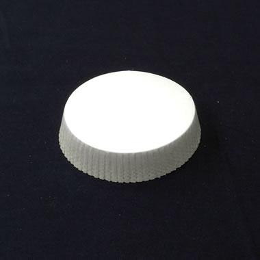 グラスカバー(コップ/グラスのホコリよけ)白無地 φ58.5mm <100枚入>