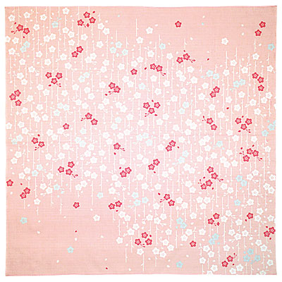 <大風呂敷> 手捺染 大 枝垂れ桜(しだれざくら) 298791