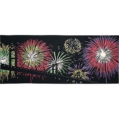 気音間(kenema)<手ぬぐい>花火大会の夜 50087