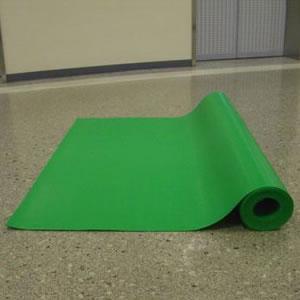 養生材 プラベニソフト両面NS(ロールタイプ/屋内用)<緑> J5M3699