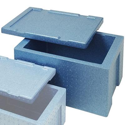 食品運搬・デリバリー・ケータリング用保温保冷コンテナ(軽量タイプ)<ブルー> RHJ-38S