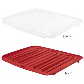 マイクロバン抗菌加工 水切りカゴ用トレー[L](4個セット)