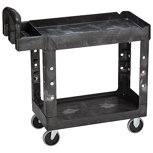 ラバーメイド ヘビーデューティーユーティリティカート (組立式)黒 FG450088BLA