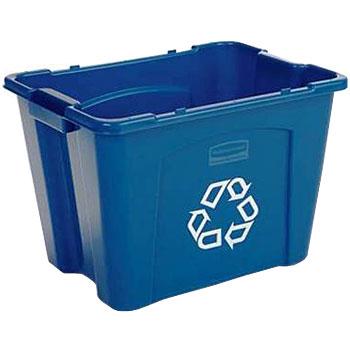 ラバーメイド リサイクルボックス [ブルー] 5714-73
