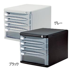 ナカバヤシ セキュリティデスクトップケース4段