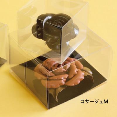 コサージュM <透明> No.758