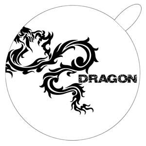 <ドリンクホルダー用紙コースター>DRAGON(ドラゴン) No.202 Aタイプ 5枚入