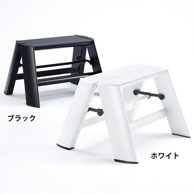 長谷川工業(HASEGAWA) メタフィス lucano(ルカーノ) 1-step 折り畳み式踏み台 ML1.0-1