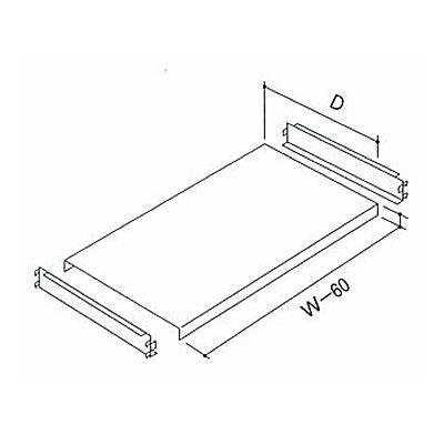 中量ラック棚セット NAMGO-34 W900×D450