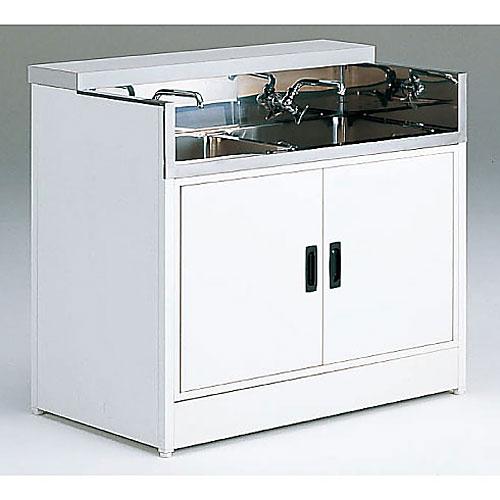 シンク台(2槽・開き戸付) W900×D550×H820 NCVS-W90