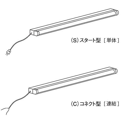 蛍光灯セット コネクト型 W900 NEO-PDFL3C