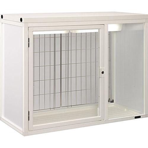 販売用ペットケージ(両面扉 照明付) W1100×D500×H900 NPCF-GM11