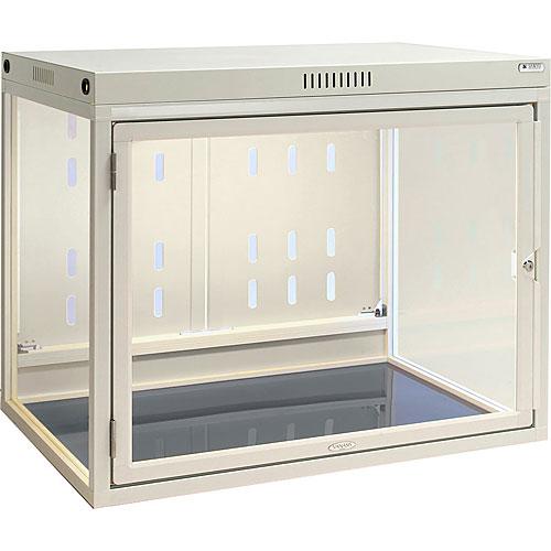 側面ガラス 販売用ペットケージ(両面扉 照明付) W950×D650×H650 NPCF-GPL096