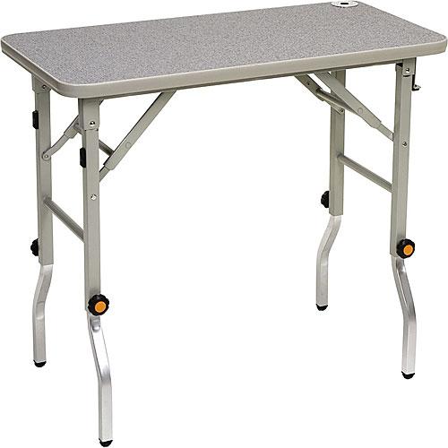 トリミングテーブル(折り畳み昇降式) W650×D430×H750〜870 NPCT-FBS6543