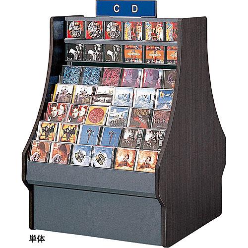 セル CD用 両面(面陳列)ストックケース 単体 W925×D1080×H1360 NSCD-AFS313S