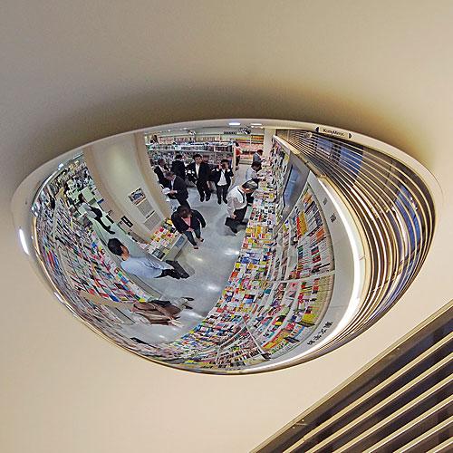 ラミドーム 360度どの方向からも見えるミラー NLT7