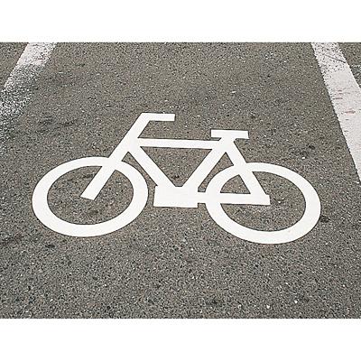 自転車の 自転車 標識番号 : 標識板 [標識板]路面標識 ...