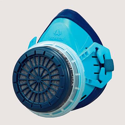 防毒マスク(国検第TN258号合格品) 直結式小型 240011