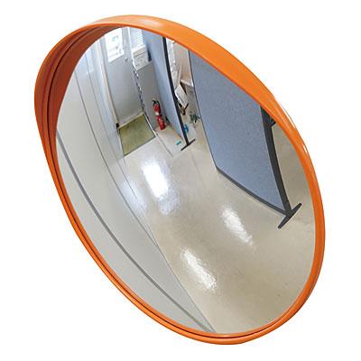 小型カーブミラー(アクリル製) 1面鏡(壁取付用)
