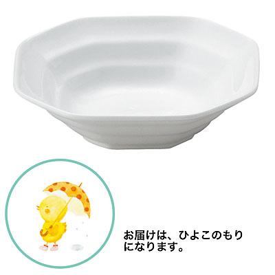 おぎそ(OGISO) おしゃれな角皿シリーズ[1] 和洋中何でも似合う八角小鉢 ひよこのもり 112TF