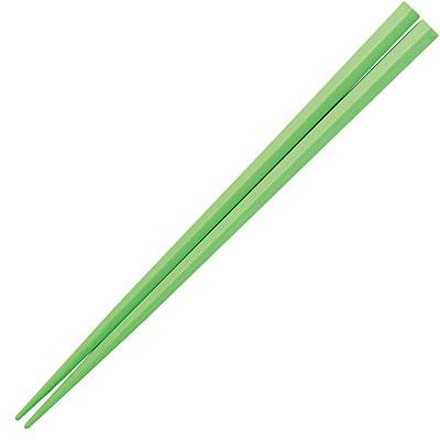 おぎそ(OGISO) 五角形PBT箸 15cm グリーン OGH-5