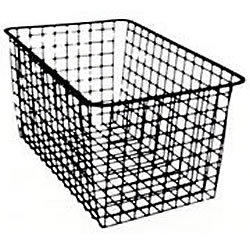 NORSCAN [システム35]ダブルバスケット <2ランナー> (D427×H185) No.44352