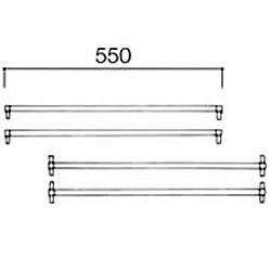 NORSCAN [システム55]クロスバー (4本入り) No.5504