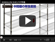 KAWAJUN SHELFの特徴